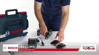 Bosch GSB 18-2-li Professional Compact Combi Drill With Batteries | UK Planet Tools