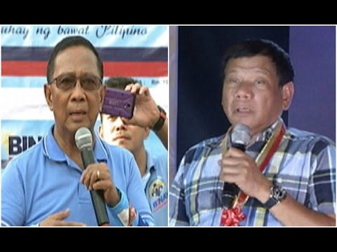 Duterte : Si VP Binay ang 'berdugo ng pera ng tao'