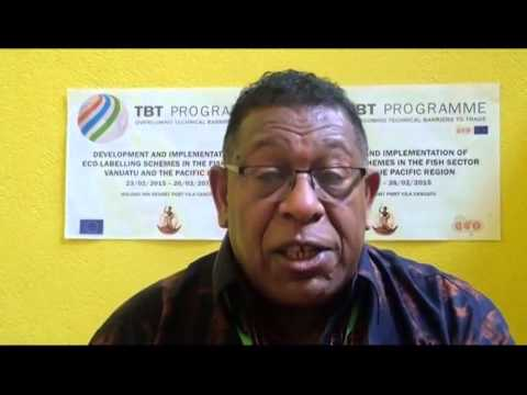 Interview Amb. Joy, Vanuatu Ambassador to the EU,  TV Nius
