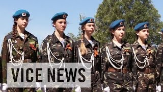 The All-Girl Soldier Club: Child Warriors of Donetsk