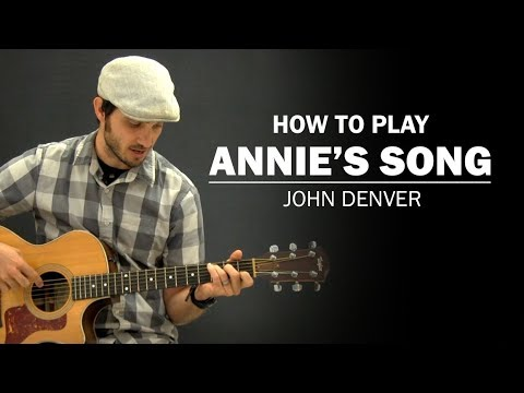 Annie's Song (John Denver) | How To Play | Beginner Guitar Lesson