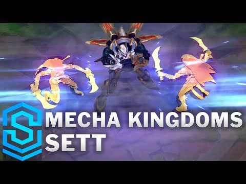 Mecha Kingdoms Sett Skin Spotlight - League of Legends