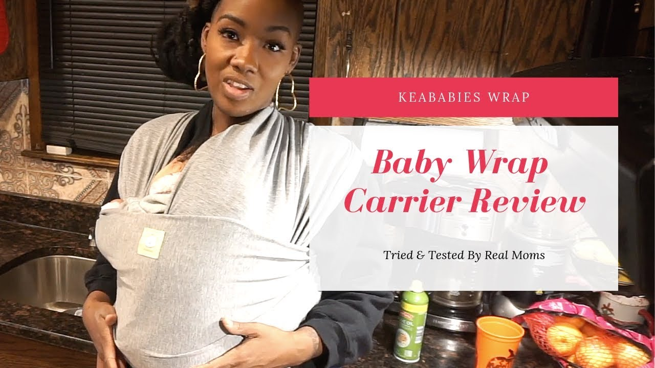 c39f09cdb3a KeaBabies Baby Wrap Carrier Review - YouTube