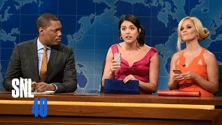Weekend Update: Two Girls You Wish You Hadn't Started a Conversation with at a Party - SNL