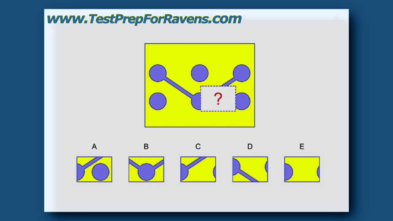 Test Prep For Ravens Progressive Matrices Youtube