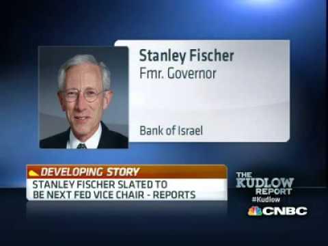 Stanley Fischer Next Federal Vice Chairman