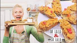 Mal was anders auf`s Brot * schnell gemacht * wilder knackiger Brotaufstrich * Vegan Ohlala