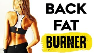 How To Lose Back and Belly Fat | 4 SIMPLE Lower Back and Waist Slimmer Workout That Burns Fat!