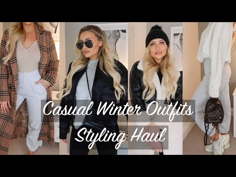 CASUAL WINTER OUTFITS | STYLING HAUL