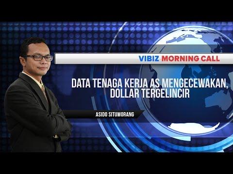 Data Tenaga Kerja AS mengecewakan, Dollar Tergelincir, Vibiznews 3 Juli 2015