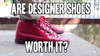 Are Designer Sneakers Worth The Pricetag?