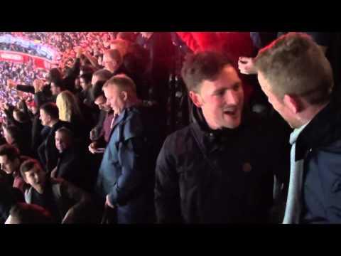 Bayern Munich vs Manchester United (Apr. 9, 2014) Evra 1-0 and Mandžukic1-1