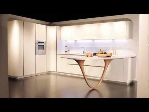Italiaanse design keuken bij de Snaidero Concept Store, - YouTube