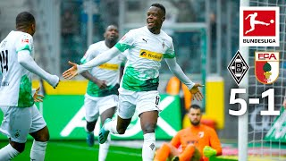 5 Goals & Goalkeeper Blooper - New League Leaders Borussia Mönchengladbach