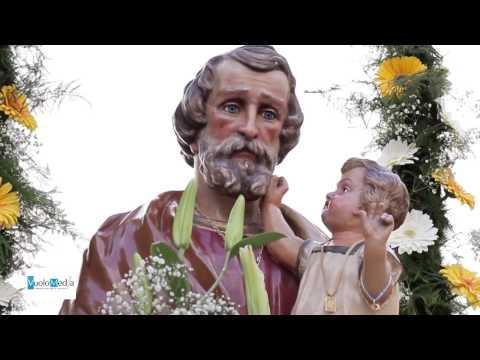 Agnone Cilento confraternite in processione per la festa di San Giuseppe