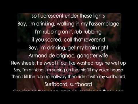Beyonce - Drunk in Love (Lyrics)