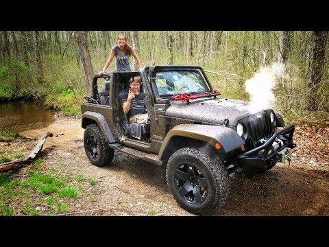 we broke the jeep