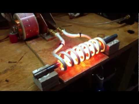 """Induction Heater - 6"""" Coil vs. 1/2"""" bar"""