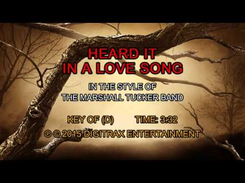 The Marshall Tucker Band - Heard It In A Love Song (Backing Track)