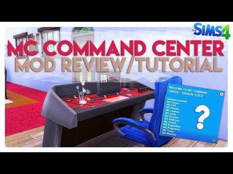 The Sims 4 MOD REVIEW | MC COMMAND CENTER: ecco cos'è e come funziona!
