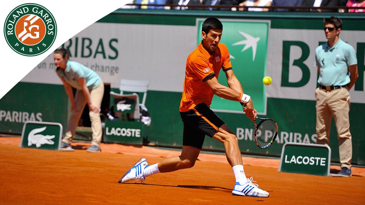 Novak Djokovic V Andy Murray Highlights Men S Semifinal 2015 Roland Garros Youtube