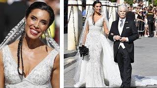 El vestido de novia de Pilar Rubio al detalle y la boda con Sergio Ramos