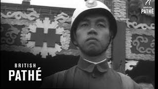 Kai Shek Reviews Forces In Formosa (1954)