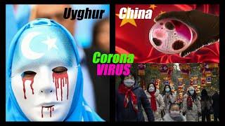 Coronavirus / uiguren // china sunset ...