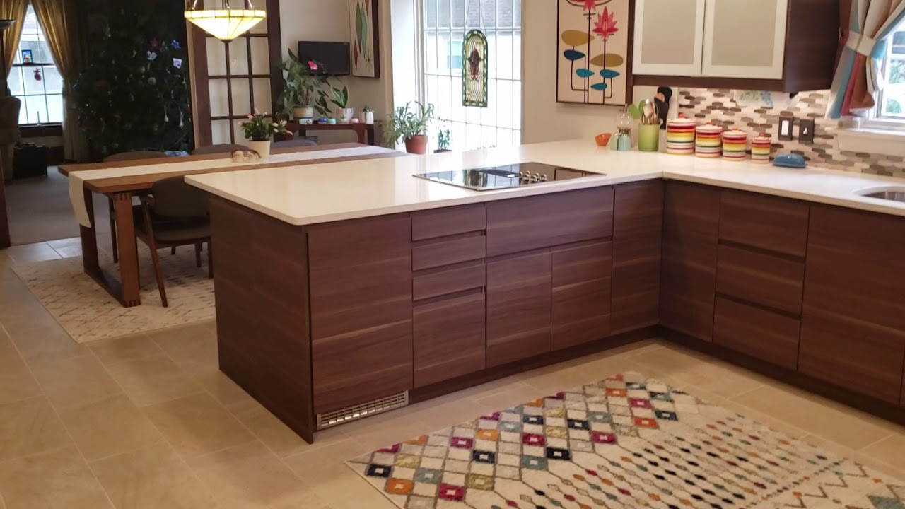 Ikea Voxtorp Walnut Virginia Kitchens
