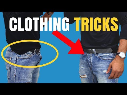 8 Clothing Tricks Most Guys Dont Know