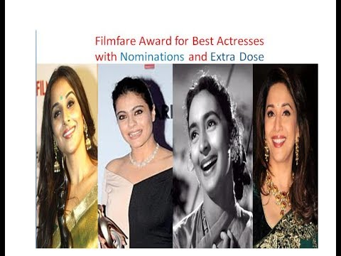 Filmfare Best Actress Award From 1954 To 2018 | Interesting facts Filmfare Best Actress Award