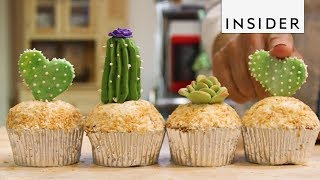 Bakery Makes Cactus and Succulent Cakes