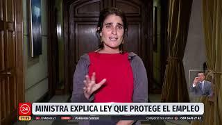 """Min. Trabajo por Seguro de cesantía: """"De cada tres pesos, dos los pone el empleador"""""""
