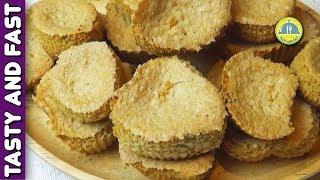 BUCKWHEAT COOKIES. How to make homemade cookies. Recipe from of 1892