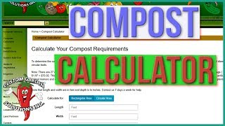 Compost Calculator - How Much Compost Do I Need For My Garden, Lawn, Trees