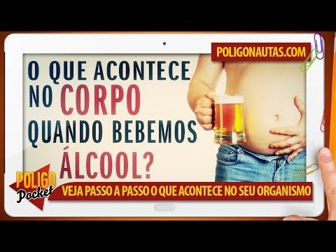 dor no corpo ao tocar após o álcool