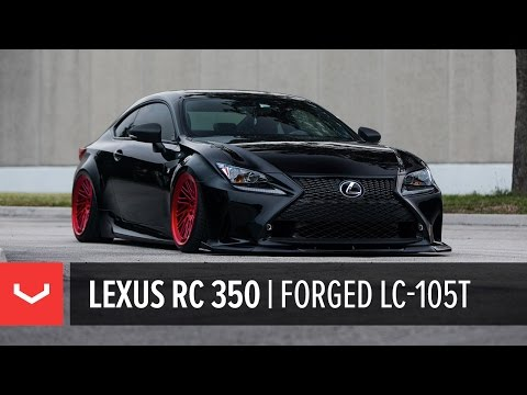 """Lexus RC 350 F-Sport Bagged 