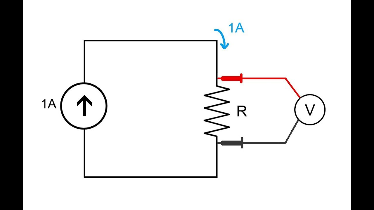 how to measure resistance in a circuit