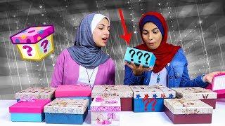 تحدي صناديق المكياج  الغامضة😱🙈 Mystery Box Makeup Challenge