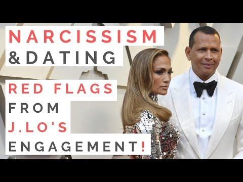 TRAITS OF A NARCISSIST: Red Flags Of Jennifer Lopez and Alex Rodriguezs Engagement | Shallon Lester