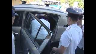 Досмотр автомобиля журналиста ОТР Николая Ярста в Сочи