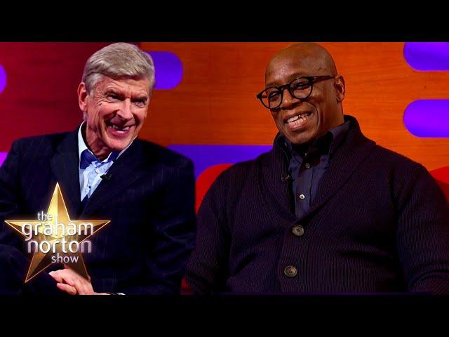 Ian Wright's HATED Arsene Wenger's Football Diet | The Graham Norton Show