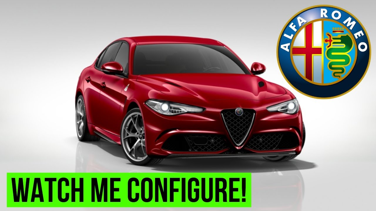 The Alfa Romeo Giulia Quadrifoglio Configurator Youtube