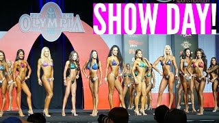 Competing at Mr. Olympia 2016- SHOW DAY! || Unfinished Business Ep. 22