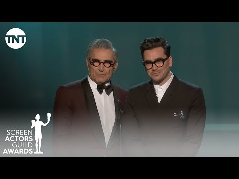 Eugene and Dan Levy: Opening Monologue | 26th Annual SAG Awards | TNT