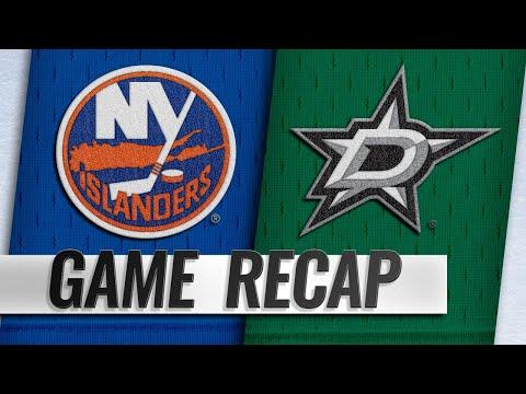 Lee, Islanders top Stars, 3-1