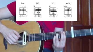 Cry Me A River - Justin Timberlake Guitar Lesson