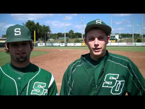 Mitchel Brennan and Tucker Donahue after completin...