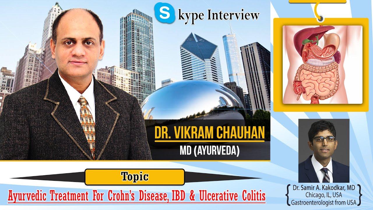 Watch Video Skype Interview of Dr. Vikram Chauhan by Dr Samir A. Kakodkar, MD - Gastroenterologist from USA