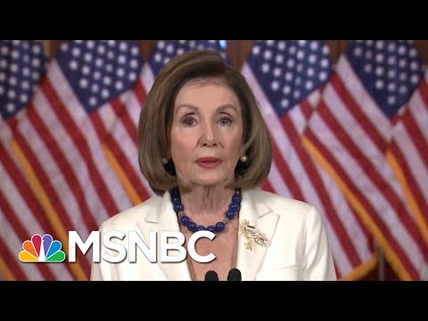 Pelosi Announces Articles Of Impeachment, Trump Attacks & Calls Her Unhinged – Day That Was | MSNBC